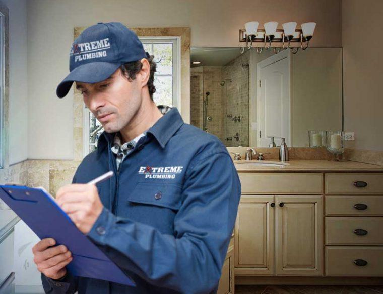 contact extreme plumbing team